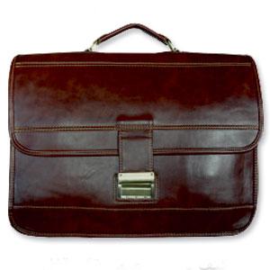 کیف دستی چرمی تک قفل